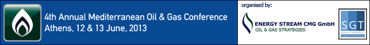 EVENT AD: 2013 Mediterranean Oil & Gas Conference