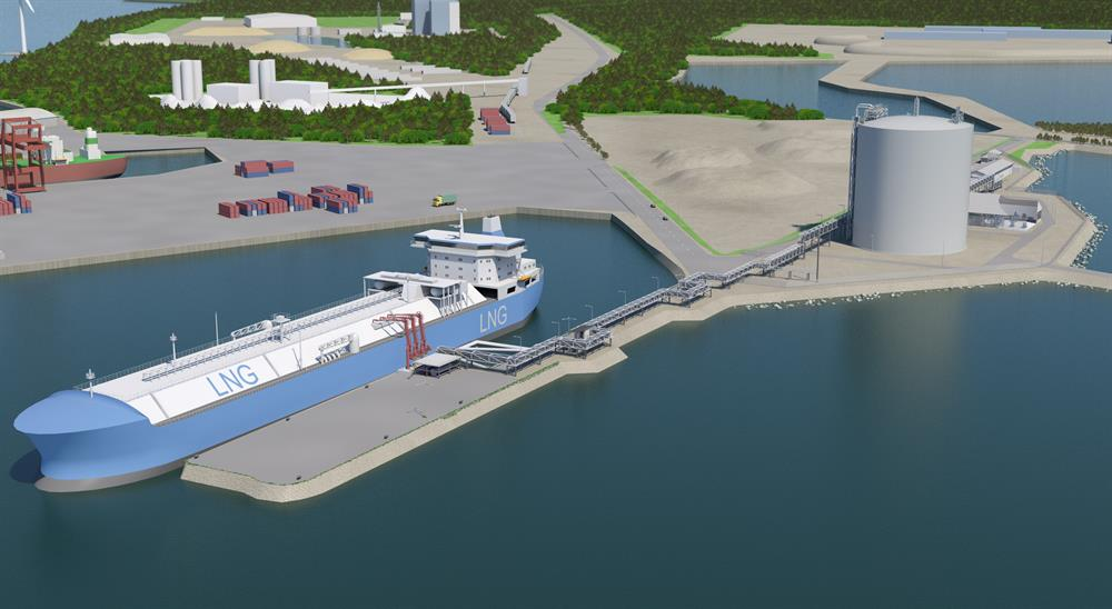 Finland's 1st LNG Terminal Opens